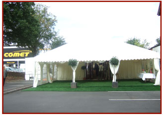 Marquee for Comet PLC