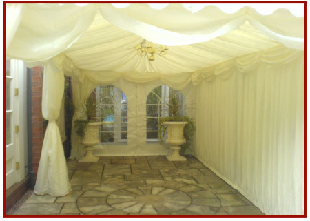 Marquee walkway (3m x 6m)